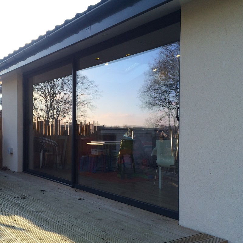 Aluminium Sliding Doors - Leeds - West Yorkshire