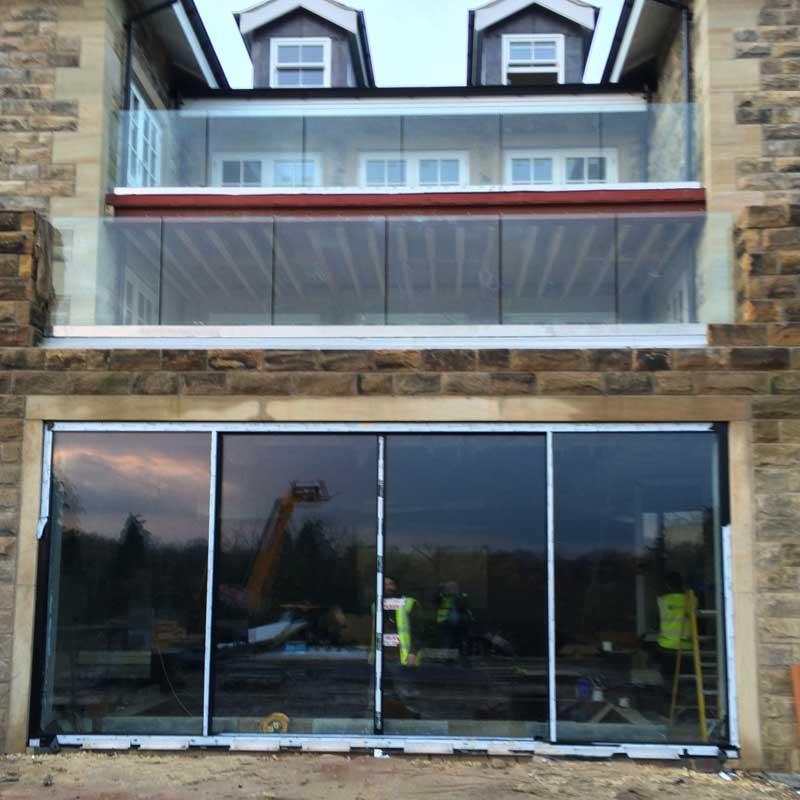 Aluminium sliding doors - Harrogate - North Yorkshire