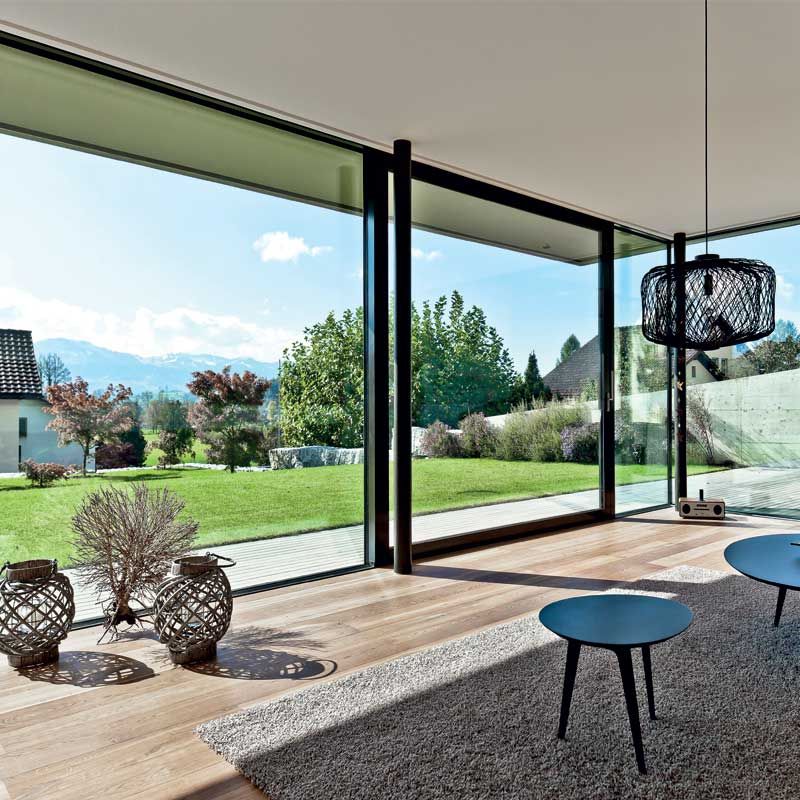 Aluminium sliding patio doors - York - North Yorkshire