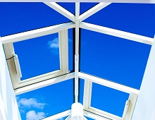 Aspect Roof Lanterns with Opening Vents