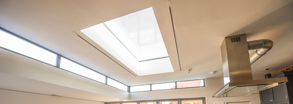 Reveal Vision Flat Roof Lights Interior View