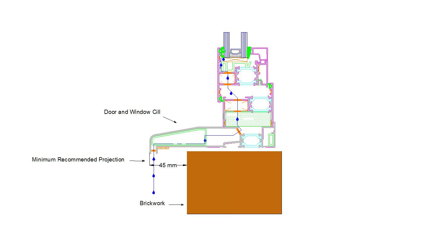 Door And Window Cill Projections Reveal