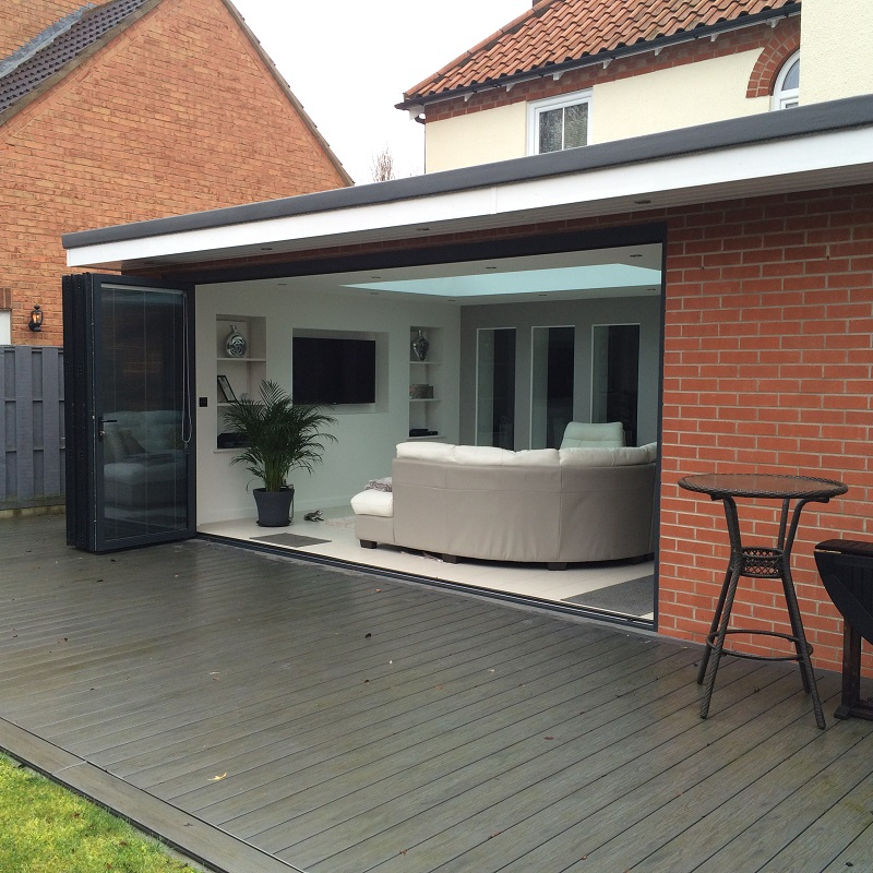 Aluminium Bifold Doors - Harrogate - North Yorkshire