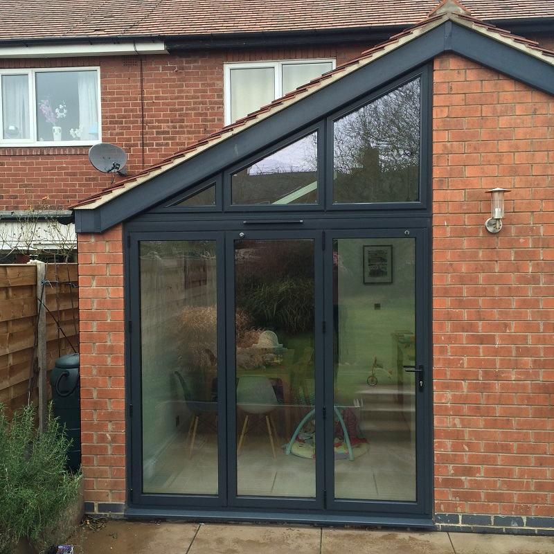 Aluminium Bi-folding Doors - Harrogate - North Yorkshire