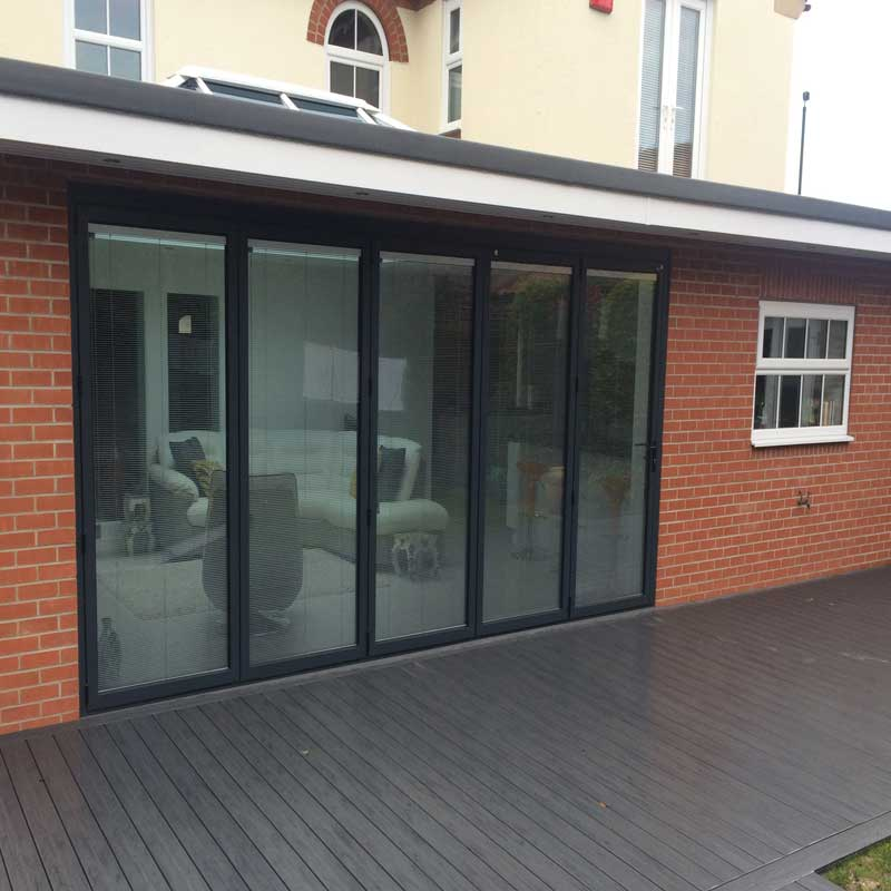Folding Sliding Door Company Leeds: Quality Aluminium & Composite Bi-fold Doors From Reveal