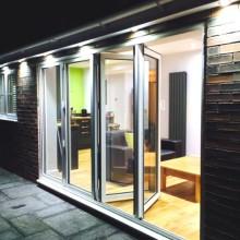 Aluminium bifold doors - York - North Yorkshire