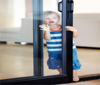 Easy access Aluminium sliding patio doors