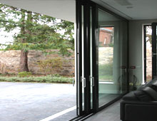 Space Saving Aluminium Sliding Doors