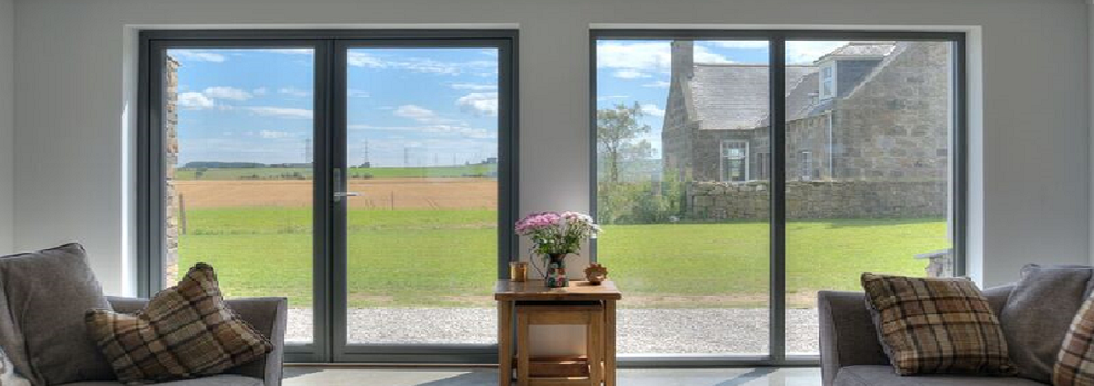 Composite Timber French Doors Reveal