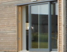 Composite Timber Two Pane Sliding Patio Doors