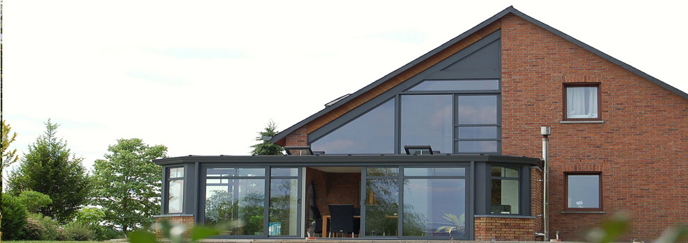 Aluminium Fixed Shaped Windows