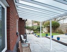 Aluminium Glazed Veranda Large Spans