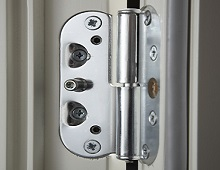 Alu-Clad French Doors Secure Hinges
