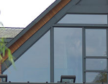 Aluminium Shaped Windows